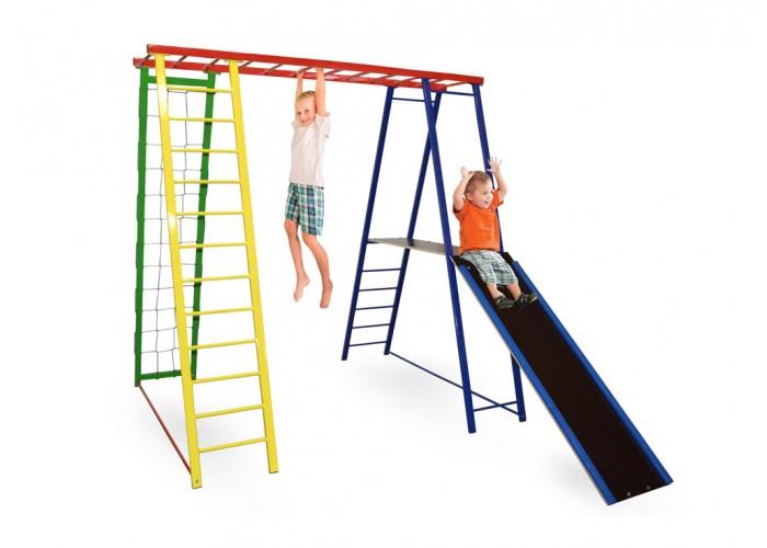 Детский спортивный игровой комплекс Sport Baby с горкой 170/140/170
