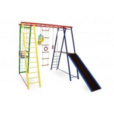 Детский спортивный игровой комплекс Sport Baby Plus с горкой 170/140/170