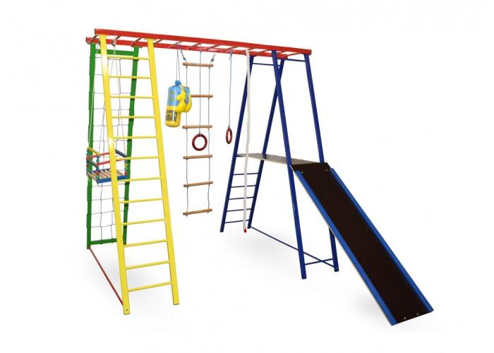 Детский спортивно-игровой комплекc Sport Baby Plus с горкой 200/150/200