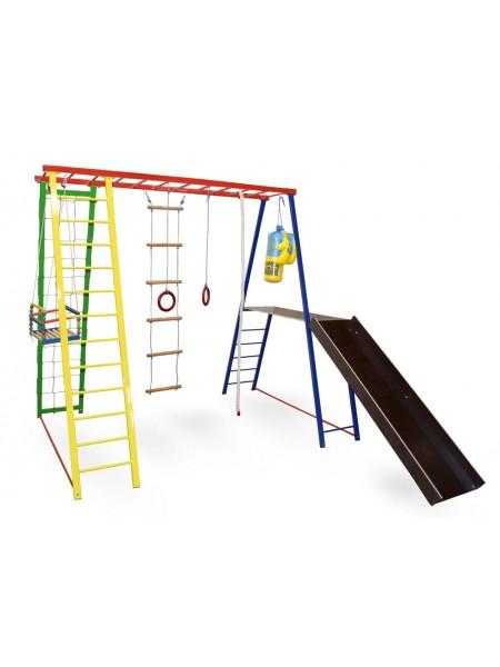 Детский спортивный игровой комплекc Sport Baby Plus 200/150/200