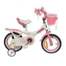 "Велосипед RoyalBaby JENNY GIRLS 18"", OFFICIAL UA, белый"