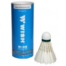 Волан бадминтонный WISH W08 (3шт)