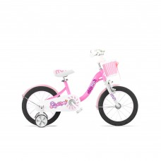 """Велосипед детский RoyalBaby Chipmunk MM Girls 14"""", OFFICIAL UA, розовый"""
