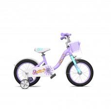"""Велосипед детский RoyalBaby Chipmunk MM Girls 14"""", OFFICIAL UA, фиолетовый"""