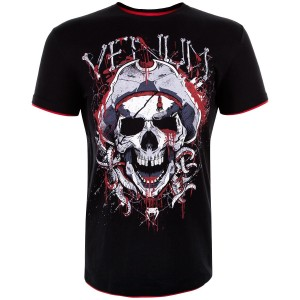 Футболка Venum Pirate 3.0 T-shirt Black Red