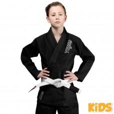 Детское кимоно Venum Contender Kids BJJ Gi Black