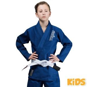 Детское кимоно Venum Contender Kids BJJ Gi Blue