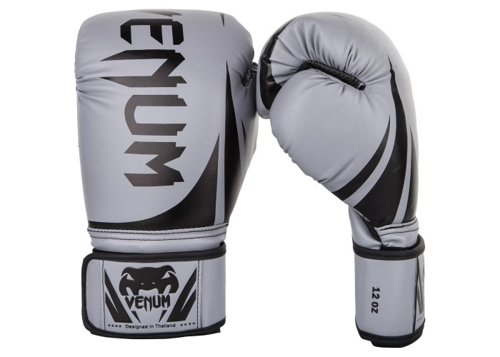 Боксерские перчатки Venum Challenger 2.0 Boxing Gloves Grey Black
