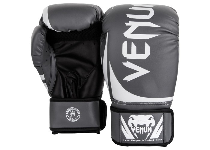 Боксерские перчатки Venum Challenger 2.0 Boxing Gloves Grey White