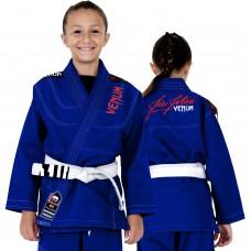 Детское кимоно для джиу-джитсу Venum Challenger 2.0 Kids BJJ GI Blue