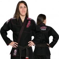 Женское кимоно для джиу-джитсу Venum Challenger 2.0 Women BJJ GI Black