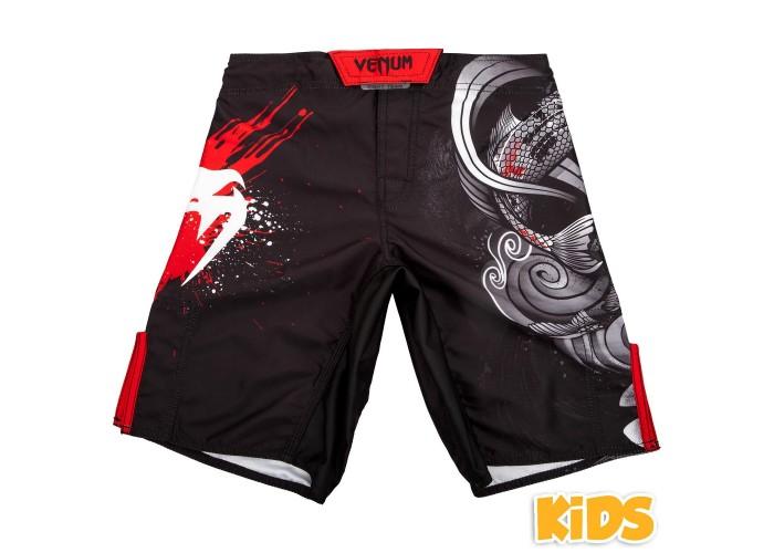 Детские шорты Venum Koi 2.0 Kids Fightshorts Black White