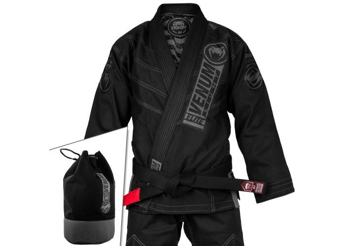 Кимоно для джиу-джитсу Venum Elite Light 2.0 BJJ GI Black Black