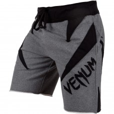 Шорты Venum Jaws Cotton Training Shorts Grey Black