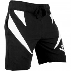 Шорты Venum Jaws Cotton Training Shorts Black White