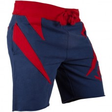 Шорты Venum Jaws Cotton Training Shorts Navy Red