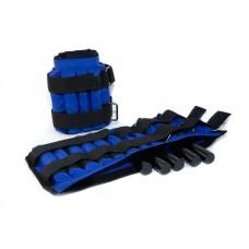 Утяжелительные манжеты CROSS регулируемые 12 кг, под грузы 2х6 кг, 500 гр – 24 шт
