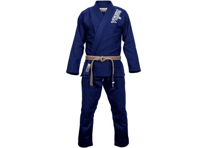 Кимоно для джиу-джитсу Venum Contender 2.0 BJJ Gi Navy Blue