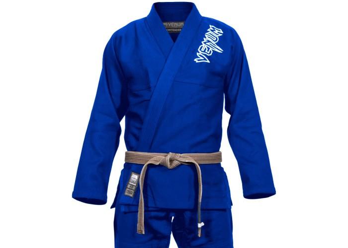 Кимоно для джиу-джитсу Venum Contender 2.0 BJJ Gi Blue