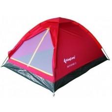 Палатка KingCamp Monodome 2, red