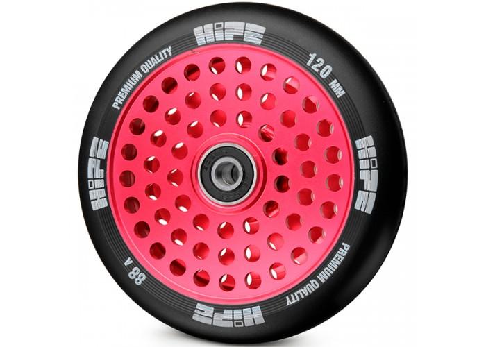 Колесо для трюкового самоката Hipe LMT20 120мм, красный