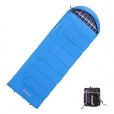 Спальный мешок KingCamp Oasis 250 (blue,правая)