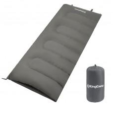 Спальный мешок KingCamp Oxygen (grey,левая)