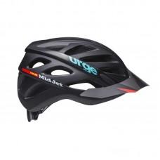 Шлем Urge MidJet чёрный S 48-55см, подростковый
