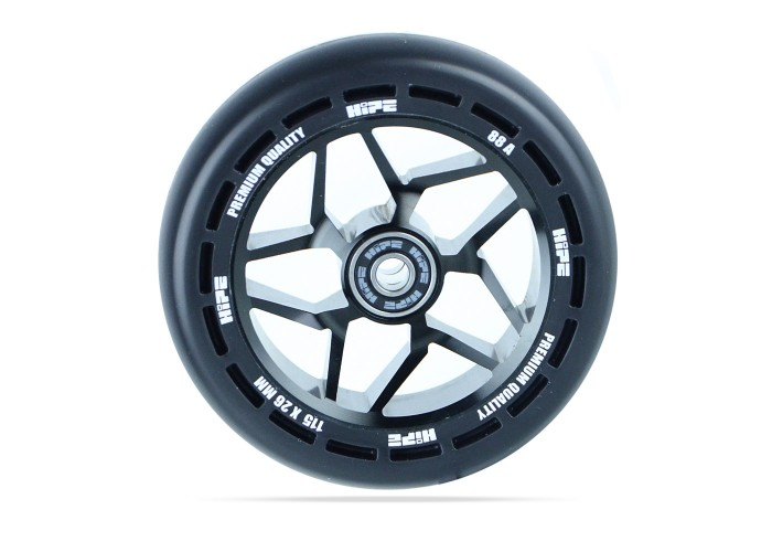 Колесо для трюкового самоката Hipe LMT12 115мм, Black/Black