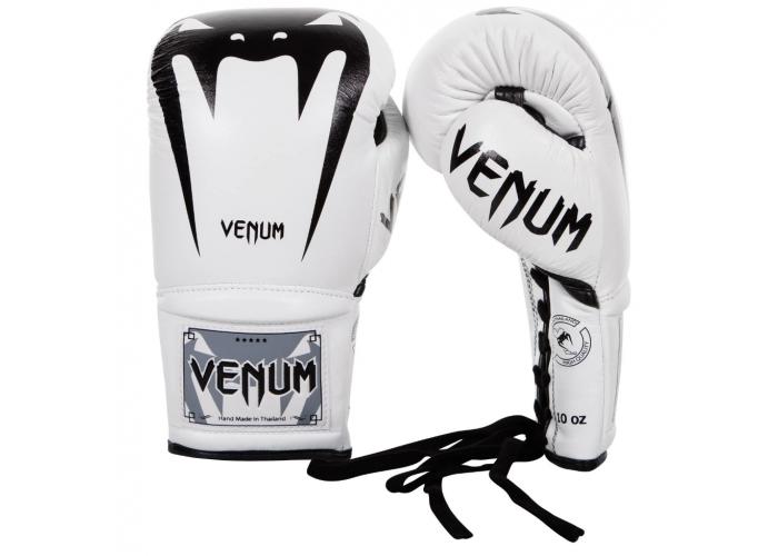 Боксерские перчатки Venum Giant 3.0 Boxing Gloves With Laces White