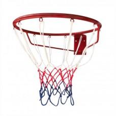 Кольцо баскетбольное усиленное №2 Newt 450 мм, сетка в комплекте
