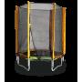 Батут с защитной сеткой Kidigo, 140 см