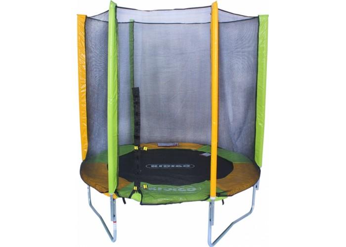 Батут с защитной сеткой Kidigo, 183 см