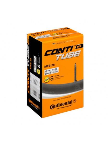 "Камера Continental MTB 26""x1.75-2.5, 47-559 -> 62-559, PR60mm"