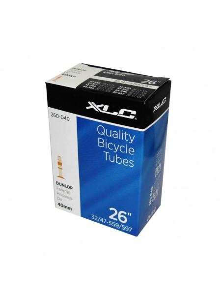 "Камера XLC, 26""x1.4-1.75 (32/40-584/590) DV 40mm"