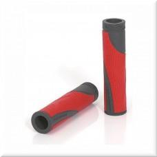 Грипсы XLC GR-S18 'Sport bo', красно-серые