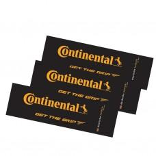 Наклейки Continental, желтые