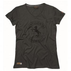Футболка Continental Horse, XS, жен, серый