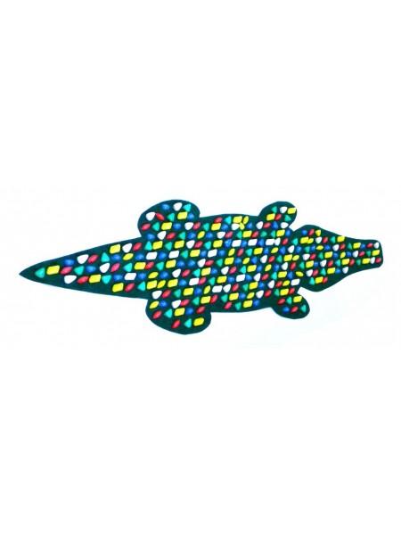 Коврик-дорожка массажный Крокодил   (146*50 см)