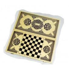Нарды+шашки+шахматы (3 в 1) дерево р. 49х49 см