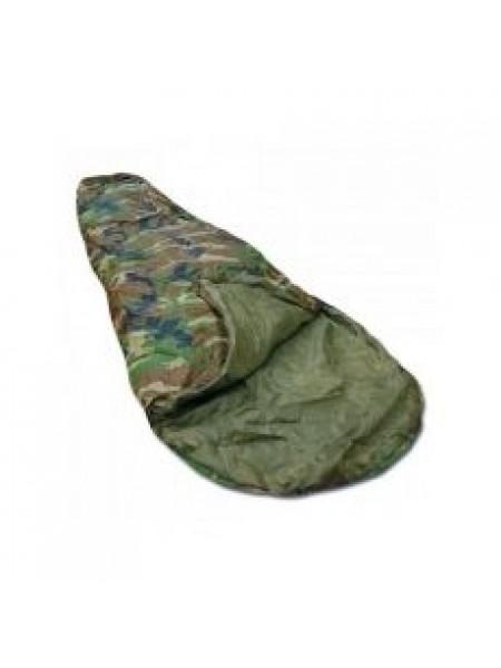 Спальный мешок SCHLAFSACK COMMANDO M. PACKS. WOODLAND