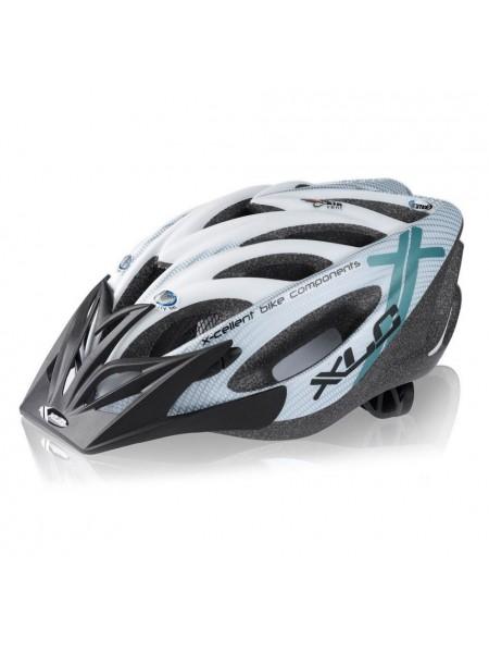Шлем XLC Mt. Kenia, серебристо-белый, Uni (52-60)