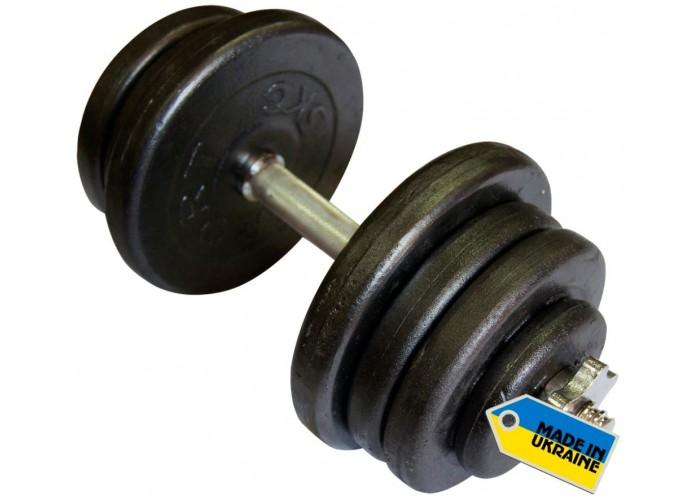 Гантель наборная стальная Newt Home 25,5 кг
