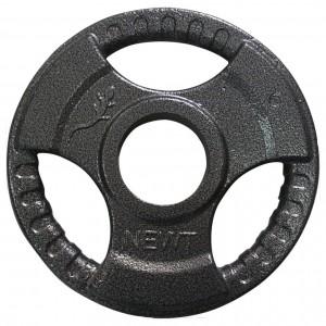 Диск тяжелоатлетический с хватами Newt 1,25 кг