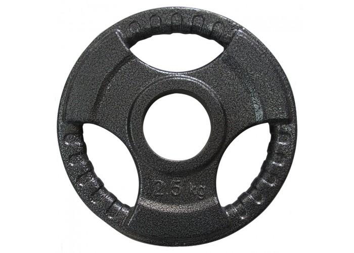 Диск тяжелоатлетический с хватами Newt 2,5 кг