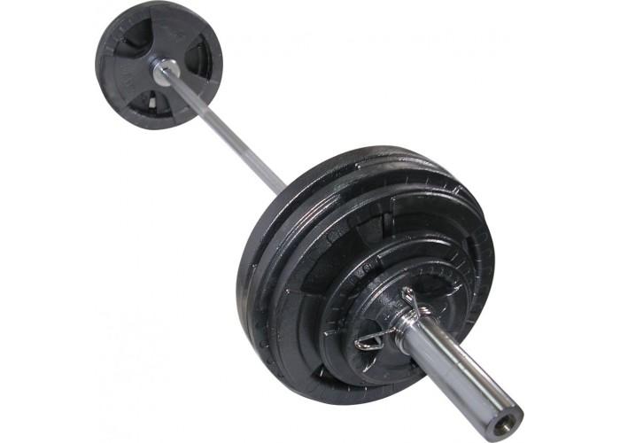 Штанга  олимпийская Newt  200 кг. Гриф 2,2 м.