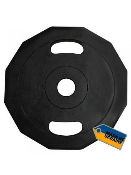 Диск для  олимпийской штанги Newt 15 кг.