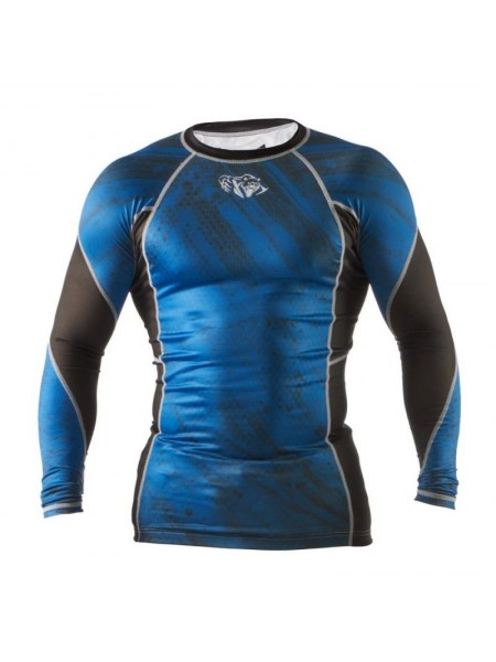 Рашгард Peresvit Immortal Silver Force Rashguard Long Sleeve Dark Marine