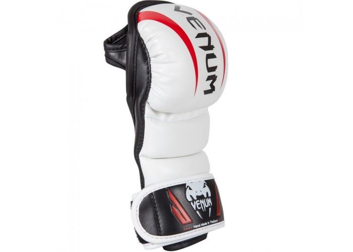 Перчатки MMA Venum Elite Sparring MMA Gloves White