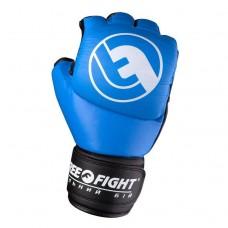 Перчатки ММА Free-Fight Blue